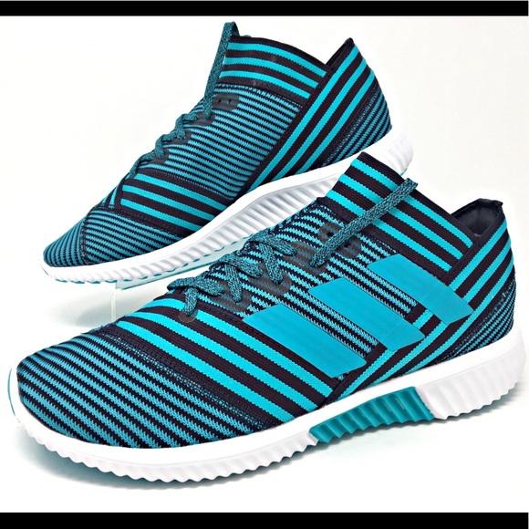 HP Adidas Nemeziz Tango 17.1 TR Blue Men Shoes NEW